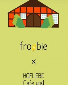 Froobie Eis im Café in Bleckede - Walmsburg