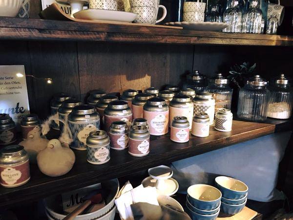 Exklusive Tee- und Gewürzkreationen in der HOFLIEBE